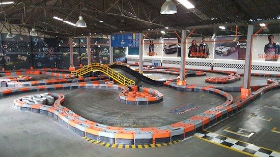 mejores circuitos de karts barcelona indoor