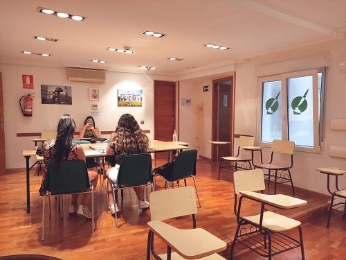 sala de estudio luis vives madrid
